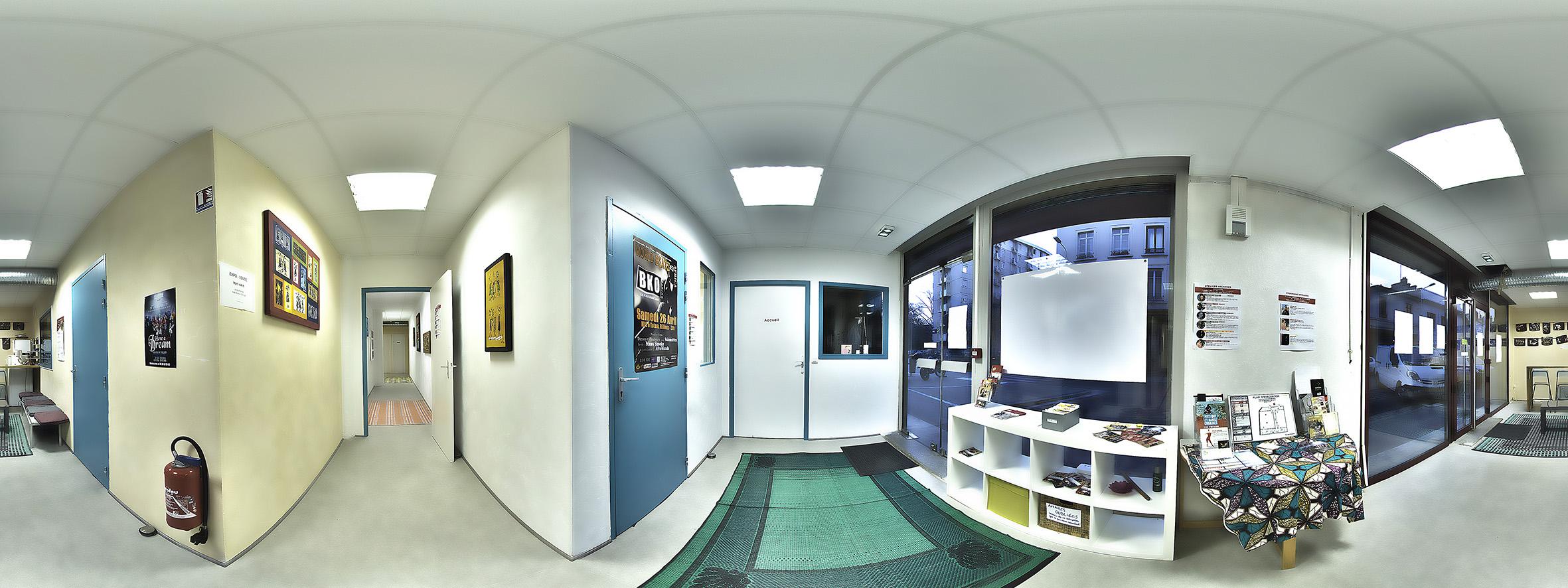 Visite Virtuelle Centre Afromundo Lyon