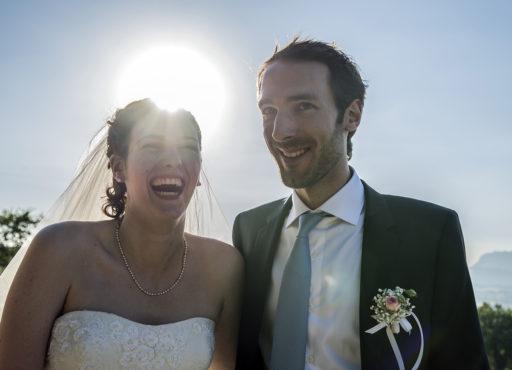 Mariés sous le soleil