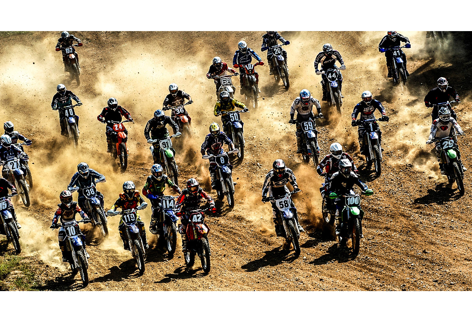 photographe sport moto cross