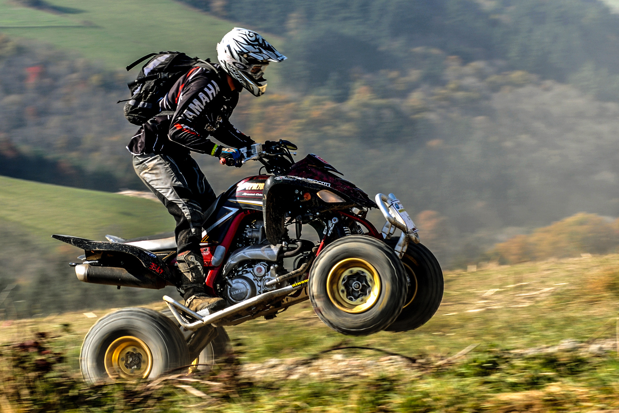 photographe sport Quad